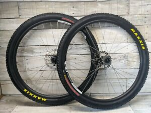 WTB Speed Disc All Mountain Single Speed Wheelset 29er Maxxis Ignitor 180 Rotors