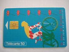 PHONECARD TELECARTE SPORT CYCLISME TOUR DE FRANCE 96