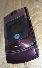 New listing Motorola Razr V3i > in red/Folding Mobile Phone
