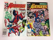 The Avengers #236 237 240 241 Amazing Spider-Man Spider-Woman 1983 1984