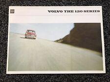 1964 Volvo Amazon 120 Series UK Mkt Sales Brochure. Excellent Condition