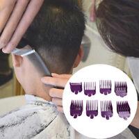 8Pcs 3mm-25mm Universal Hair Clipper Limit Combs Guide Attachment Comb Sets