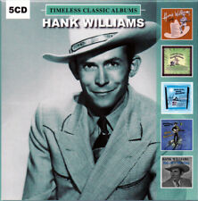 Hank Williams 5 Classic Albums (5 CD) NEW SEALED