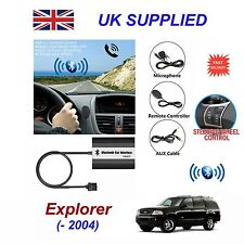 For Ford Explorer Bluetooth HandsFree Phone AUX Input MP3 USB Charger Module 12p