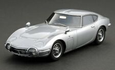 Ignition HPI 8369 Toyota 2000GT Thunder Silver Metallic 1/43 Scale Model JDM