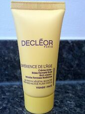 DECLÉOR Experience DE L'Age Rich Cream - wrinkle firmness radiance 15ml
