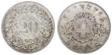 Schweiz 20 Rappen 1850 (2) s-ss 35240