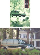 Mazda MPV 1993-94 Original USA Market Sales Brochure Pub. No. 9999-92-010V-94