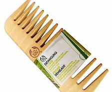 The Body Shop Detangling Hair Comb FOR ALL HAIR TYPES -Natural Birch Wood GIFT