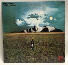 JOHN LENNON Mind Games LP Vinyl Record Album