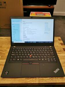 "Lenovo ThinkPad T495 AMD Ryzen 5 3500U 2.10GHz QuadCore 16GB Ram 256GB SSD 14.1"""