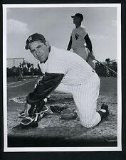 Yogi Berra Press Wire Photo Donald Wingfield The Sporting News New York Yankees