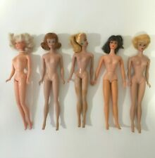 Vintage Barbie Dolls Lot of 5 Early 1960s