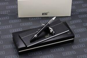 Montblanc Starwalker Black Platinum Resin Rollerball Pen -  NEW