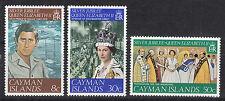 Cayman Islands 380-382** 25 years Queen Elizabeth II