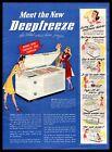 1947 Deepfreeze Model C-10 Freezer Chicago Illinois Cartoon Vintage Print Ad photo