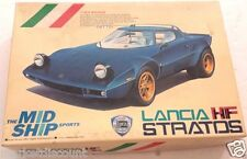 Very rare 1/24 Nitto Kagaku Motorized Lancia Stratos # 14046-700 NEW old stock