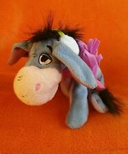 Fisher Price Eeyore Soft Toy Beanie Plush Winter Eeyore Ear muffs Christmas 8""