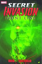 Secret Invasion: Frontline TPB Marvel Comics 2009 (#1-5) Avengers Brian Reed