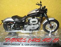 MOTO  1/24 HARLEY DAVIDSON XL 1200N SPORTSTER NIGHTSTER 2008