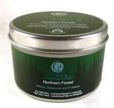Way out Wax Northern Forest Candle Net Wt 6.7 ounces Large Travel Tin