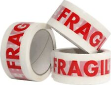 4 Rolls of Printed FRAGILE Tape 48mm x 66m