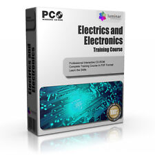 Electronics Electrician Training Course Manual Book CD