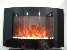 NEW 2018 LED FLAME EFFECT TRUFLAME CURVED WALL MOUNTED ELECTRIC FIRE