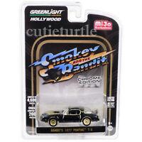 Greenlight Smokey & Bandit 1977 Pontiac Trans Am 1:64 Black Chrome 51223