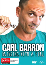 Carl Barron - Drinking With A Fork : NEW DVD