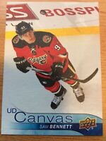 UPPER DECK 2016-2017 SERIES ONE CANVAS SAM BENNETT HOCKEY CARD C-15