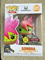 OVERWATCH Los Muertos Sombra Glow GITD Funko Pop Vinyl New in Box