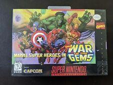 Marvel Super Heroes: War of the Gems SNES *** BRAND NEW & SEALED ***