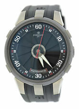 Perrelet Turbine XL Double Rotor Titanium Stainless Steel Watch A1050/1