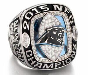 2015 Carolina Panthers National Football Championship Ring //