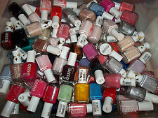 Lot of 10: New ESSIE Nail Lacquer Color Polish Full Size (No Repeats Free Ship)