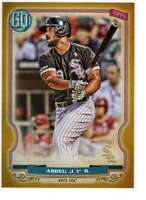 Jose Abreu 2020 Topps Gypsy Queen 5x7 Gold #165 /10 White Sox
