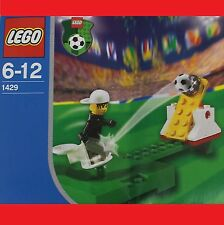 LEGO 1429 Fußball Sports Goalkeeper Training Torhüter past zu 1428 1430 3401 Neu