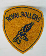 Vintage Roller Skate Patch Royal Rollers