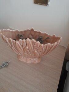 Vintage Sylvac tan Hyacinth Leaf  Vase no 2456