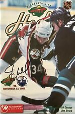 Jim Dowd- Nhl- Signed Game Program- Stanley Cup- Flyers- Devils- Wild- Hockey