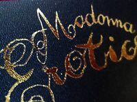MADONNA EROTICA ANNIVERSARY GOLD LEATHER WRIST LOGO ICON FAN CLUB ONLY PROMO SEX
