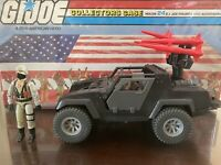 GI Joe 1984 Night Attack 4WD Stingerw/ Driver ARAH Vintage Figure Vehicle.