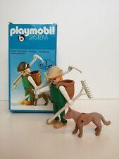 Playmobil 3373 - Medieval Kraftsman / Handwerker mit hund (OVP, Klicky Box)