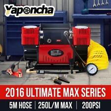 12V 200PSI Air Compressor Car Tyre Deflator 4wd Inflator Portable twin cylinder