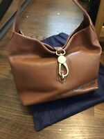 Dooney And Bourke Brown Leather Hobo Bag