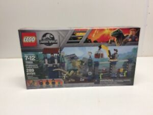 NEW  LEGO Jurassic World 75931 Dilophosaurus Outpost Attack NIB Factory Sealed