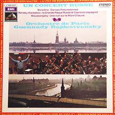 BORODINE Un Concert Russe Rojdestvensky FR Press La Voix.. 2C 069-02317 1972 LP