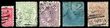 Victoria Scott 130, 132, 135, 138, 142 (1873-81) Used G-F, Cv $14.70