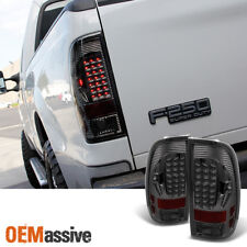 Smoked 1997-2003 F150 1999-2007 F250 LED Tail Lights Lamps Left+Right 200 2001